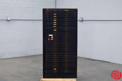 Letterpress Type Cabinet - 31 Drawers - 101719082209