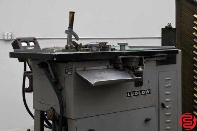 Ludlow Typograph Machine w Ludlow Matrix Cabinet - 101719073847