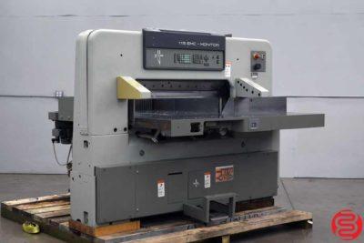 Polar 115 ECM Programmable 45 Paper Cutter - 100219092701