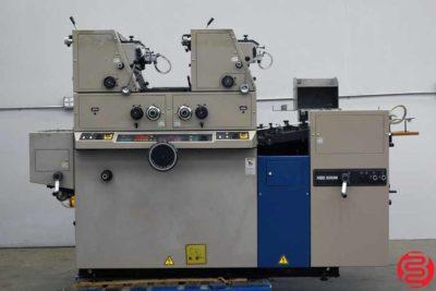 Ryobi 3302M Two Color Offset Printing Press - 100719024955