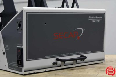 Friction Feeder Description The Secap FR170 friction feeder is a medium duty feeder that can be added to a Secap 30K, Secap V-Jet