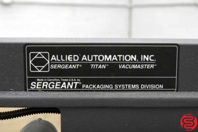 Sergeant 1620 Simpulse IV Shrink Wrap System - 100719105829