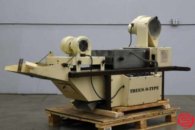 Therm-O-Type 400D Thermography Machine - 102219120004