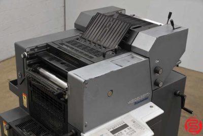 2003 Heidelberg Printmaster QM 46-2 Two Color Printing Press - 111519103538
