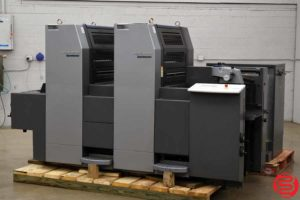 2003 Heidelberg SpeedMaster SM 52-2 Two Color Offset Press - 110719082117