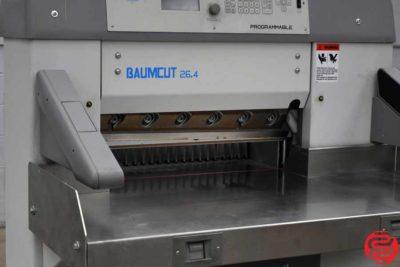 2004 Baumcut Model 66 26.4 Programmable Paper Cutter - 110419015106