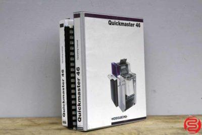 2007 Heidelberg Printmaster QM 46-2 Two Color Printing Press - 110619114807