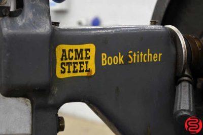 Acme Interlake Model A Flat Book Saddle Stitcher - 103019113323