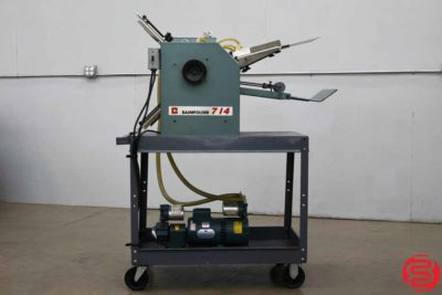 Baum 714 Vacuum Feed Paper Folder - 112119023455