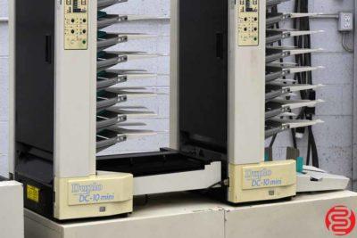 Duplo DC-10 Mini 20 Bin Booklet Making System - 110419021841
