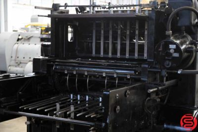 Heidelberg Model S 20 x 28 Cylinder Die Cutter - 110619053016
