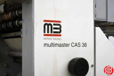 MB MultiMaster CAS 38 Auto Setup Paper Folder - 110419015807