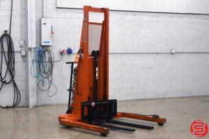 Presto PS262-50 Power Lift Straddle Stacker - 111419023200
