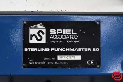 Spiel Sterling PunchMaster 20 Automatic Paper Punch - 111319033843