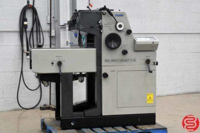 2007 Gronhi Pro-Print 4750 Single Color Offset Printing Press - 122019104040