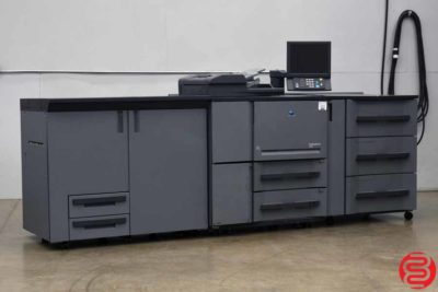 2011 Konica Minolta Bizhub PRO 1200 Monochrome Digital Press - 112519092927