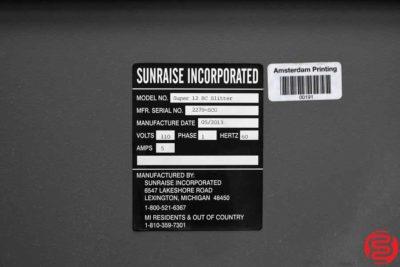 2013 Sunraise Super 12 BC Business Card Slitter - 112519113025