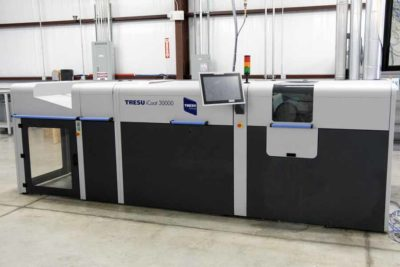 2014 TRESU iCoat 30000 Inline UV Coating System