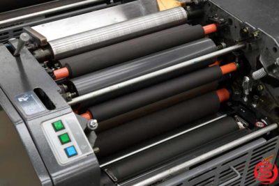 AB Dick 9995 (Ryobi 3302) Two Color Offset Printing Press - 121919105235