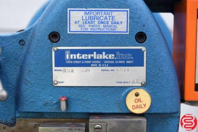Acme Interlake S3A 34 Flat Book Saddle Stitcher - 122319083725
