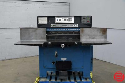 Challenge 305 CDC Hydraulic Programmable Paper Cutter - 120919031949