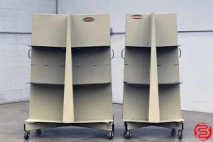 Challenge Paper Bindery Cart - Qty 2 - 120319024209