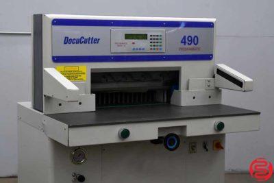 Duplo DocuCutter 490 19 Programmable Paper Cutter - 112519090640