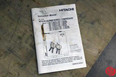 Hitachi Oilfree Scroll 7.5 Multi Drive 10 HP 120 Gallon Air Compressor - 122019084420