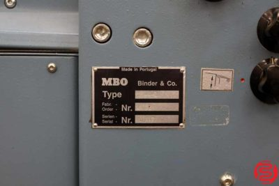 MBO B26 Continuous Feed Paper Folder - 120519025655