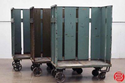 Paper Bindery Cart - Qty 3 - 120319012831