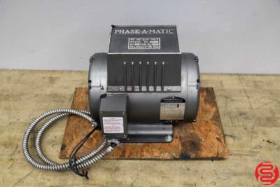 Phase-A-Matic R5 5 HP Rotary Phase Converter - 120919033555
