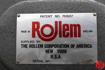 Rollem Champion 990 Perf Slit Score Machine - 120719032638