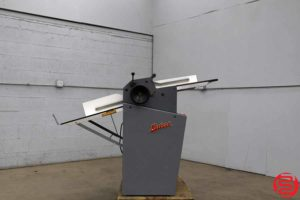Rosback 220 True Line Perforator Perf Slit Score Machine - 120919034051