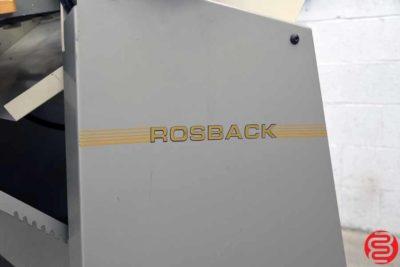 Rosback 223BV 23 Perf Slit Score Machine - 121719035440