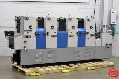Ryobi 3304H Four Color Offset Printing Press - 121319095505