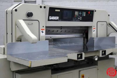 Saber S115 Programmable Double Pull Paper Cutter - 121119021110