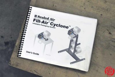 Sealed Air Fill-Air Cyclone Inflatable Protective Packaging System - 120519114210