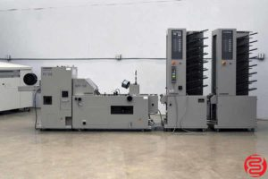 Standard Horizon MC-80 16 Bin Booklet Making System - 120219124434