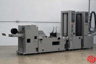 Standard Horizon MC-80 16 Bin Booklet Making System - 120219124434