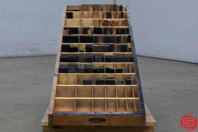 Thompson Letterpress Furniture Cabinet - 121119082820