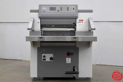 "1998 Polar 66 26"" Programmable Paper Cutter - 012820033620"