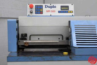 2000 Duplo MR 500 Perfect Binder - 123019113220