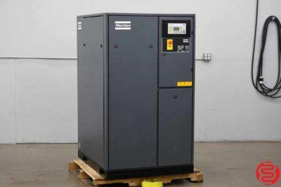 2003 Atlas Copco SF11 Rotary Screw Air Compressor - 012920014010