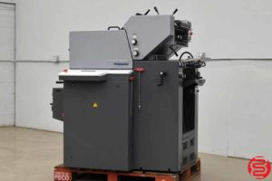 2007 Heidelberg Printmaster QM 46-2 Two Color Printing Press - 012720110440