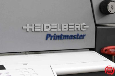 2007 Heidelberg Printmaster QM 46-2 Two Color Printing Press - 012720110440