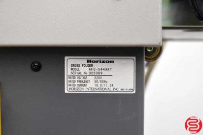 2007 Horizon 21 AFC-544AKT Cross Folder Paper Folder - 011820105455