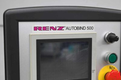 2007 Renz AutoBind 500 Wire Binding Machine - 011320114755