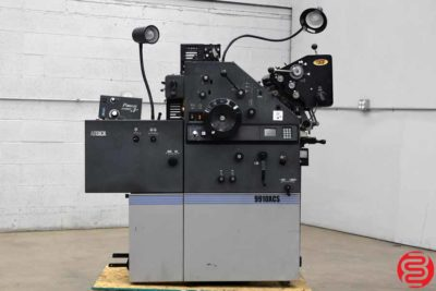 AB Dick 9910XCS Two Color Offset Printing Press - 012420124255
