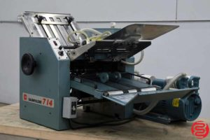 Baum 714 Vacuum Feed Paper Folder - 010920012845