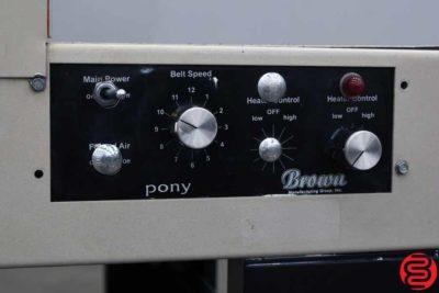 Brown Pony Shrink Tunnel - 010920073310